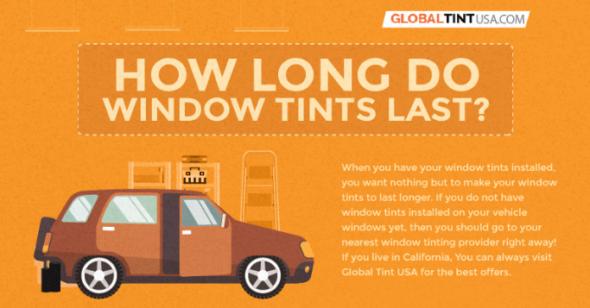 How Long Do Window Tints Last?